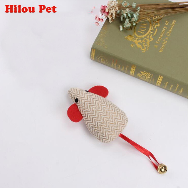 Big Funny False Mouse Rat Toys for Cat Kitten Pet Cotton Mouse Toys Pets Cat Playing Toy Squeak Mouse