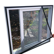 Summer magic thread gluing Mosquito Screen window hook and loop curtains free punch insect screen window sun Sealing Strips