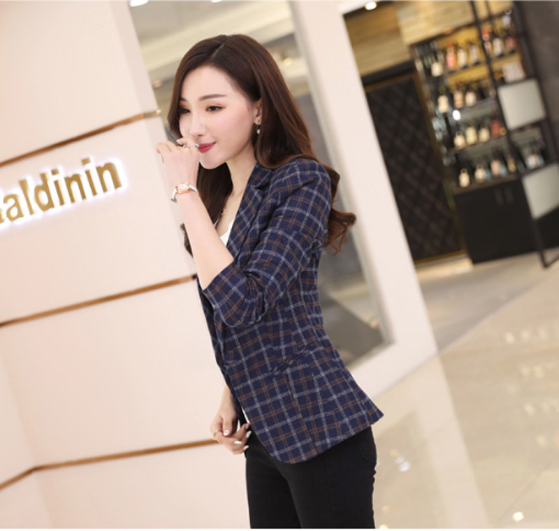 2019 Direct Selling Full Blazer Women Flying Roc New Style Blazer Casual Woman Suit Sleeve Slim Women Office Jacket Clothing