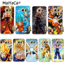MaiYaCa Dragon Ball z goku DragonBall 2 Coque Shell Telefoon Case voor Samsung S5 S6 S7 Edge S8 Plus S6 Rand Plus S3 S4(China)