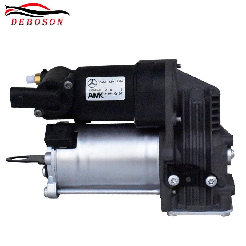 for Mercedes benzs W221 S Class Car Air Suspension Compressor pump 2213201704