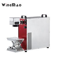 Hot selling cheap laser marking machine for metal parts,auto parts,bearing,buckles,rings,bracelet laser machine