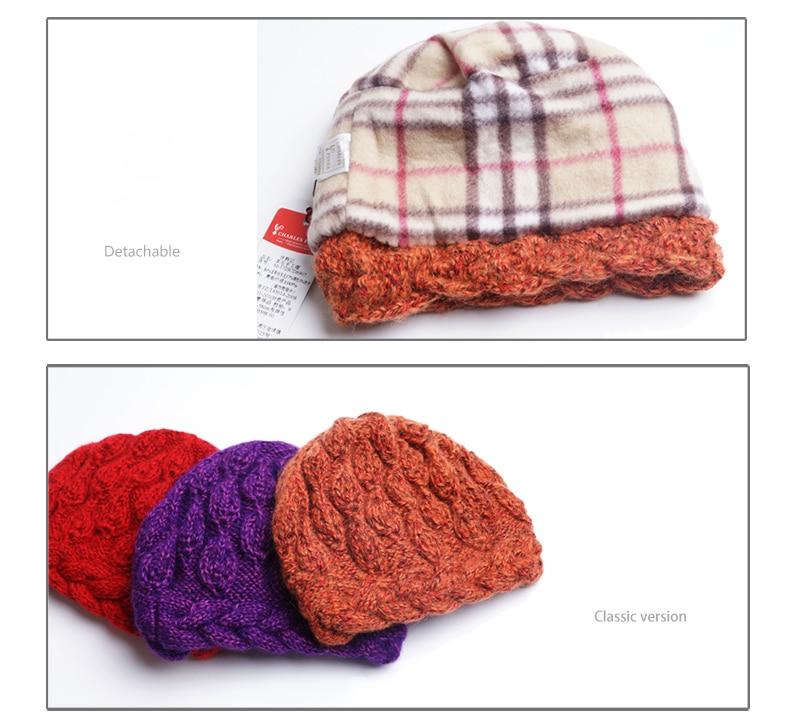 Chapeau en laine double épaisseur
