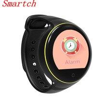 Smartch S668 милые умные часы жизни круглый Экран Android наручные GPS SOS удаленного мониторинга для малыша старик smart телефон