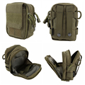 New Tactical Military Hunting Small Utility Pouch Pack Army Molle Cover Scheme Field Sundries Bags Outdoor Sports Mess Briefcase