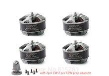 4pcs GARTT ML 2206 1500KV Brushless Motor with prop adapter For QAV 210 250 300 Quadcopter Multicopter RC Drone