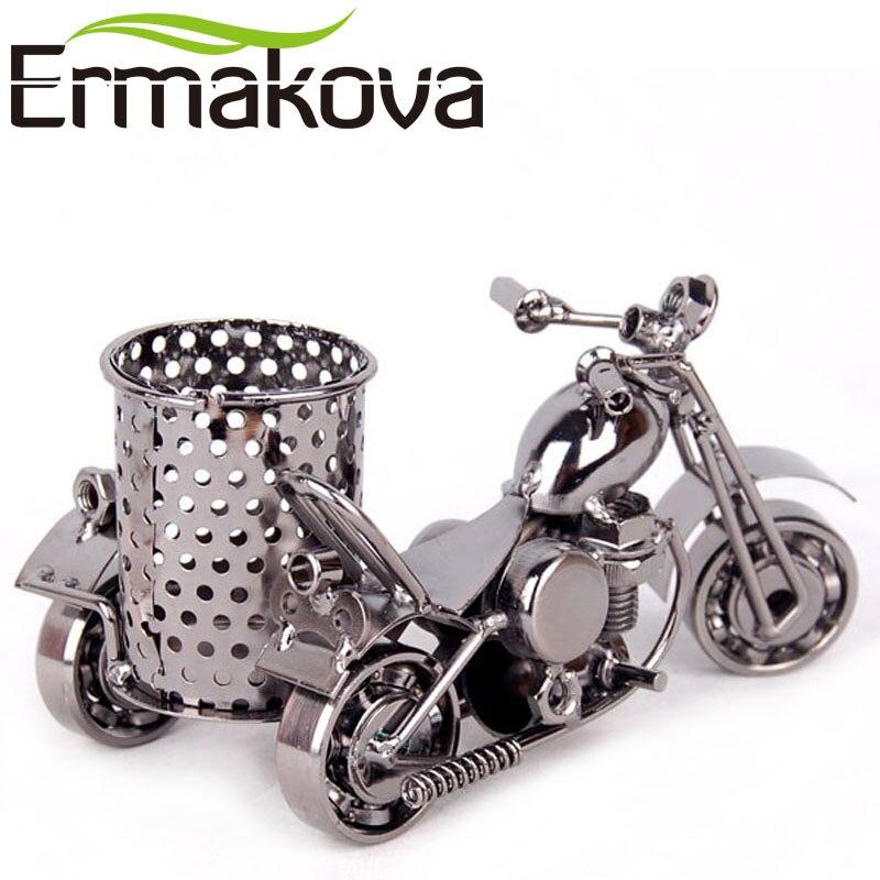 ERMKOVA Металл Мотоцикл үлгісі Ретро - Үйдің декоры - фото 3