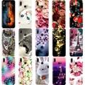 Чехол для телефона Huawei P20, P10, P9, P8 Lite 2017, мягкий силиконовый чехол-накладка с милым котом для Huawei P20 Pro, P9 Lite Mini