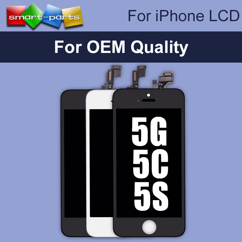 10PCS LOT OEM AAA Quality LCD Display For Apple iPhone 5 5S 5C Touch Screen Digitizer