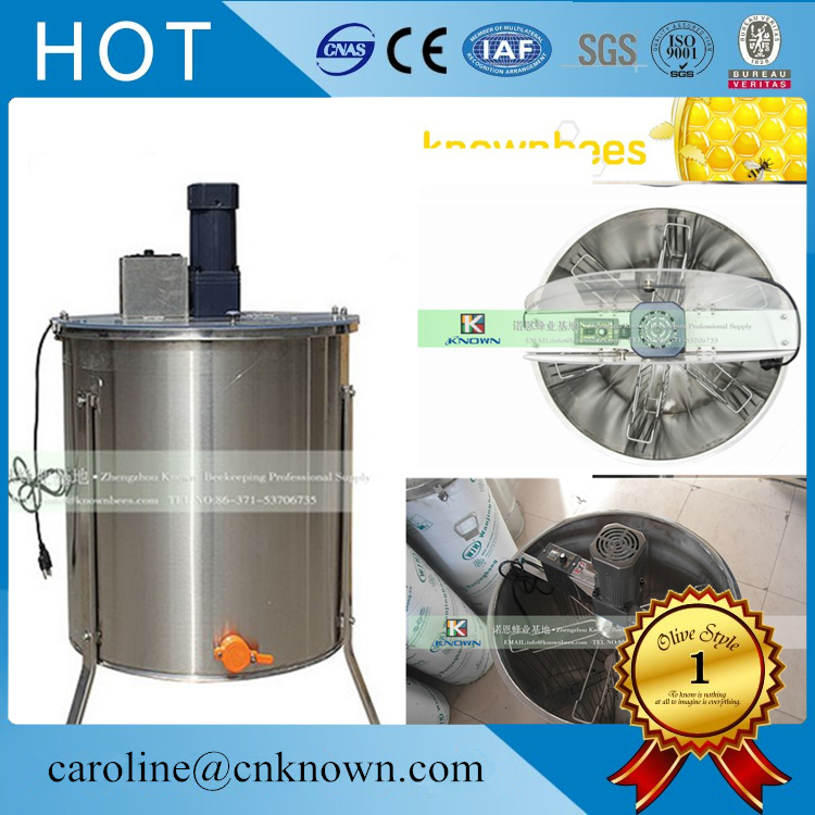 201 Stainless steel 6 Frame Electric Motor Honey Extractor|Food Processors|Home Appliances - title=