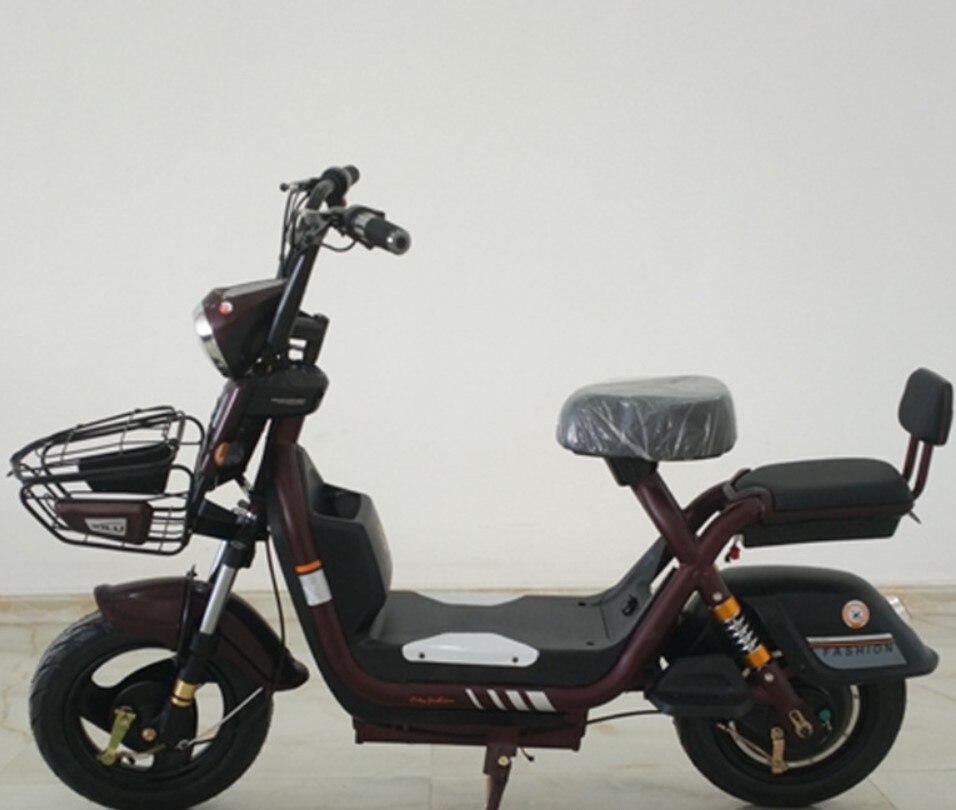 Batterie électrique au Lithium Citycoco Scooter 48 V Moto électrique télétrol Moto électrique moteur de verrouillage Intelligent