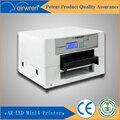 Surtidor de China a3 impresora uv impresión en madera, caja del teléfono con sistema de refrigeración por agua
