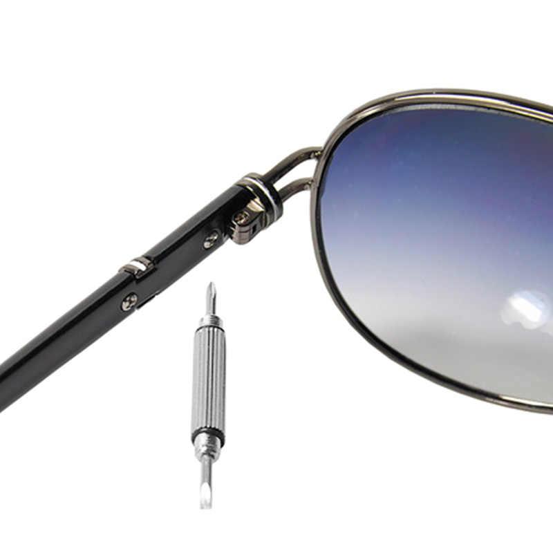 Casa de óculos de Sol Óculos de Reparação De Telefone Celular Chaveiro Chaveiro Chave De Fenda Ferramenta-Car Styling Para Moto Auto Acessórios