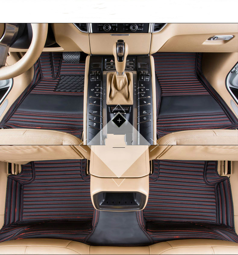 Full Covered No Odor Waterproof Carpets Durable Special Car Floor Mats For Cadillac CT6 XTS XT5 SLS CTS ATS ESCALADE SRX XLR