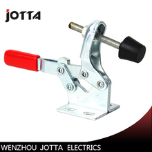 1pc 27kg  90kg Anti-Slip U Shape Toggle Clamp Holding Capacity Push Pull Toggle Clamp Vertical/Horizontal Type for Hand Tool 45kg 99 lbs holding capacity 16 7mm plunger stroke push pull type toggle clamp