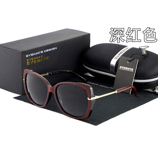 Reven Vidros De Sol 6528 UV400 Polarizada Óculos de Moda de Alta Qualidade Mulheres Óculos De Sol para Mulher Sunwear