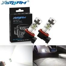 H8 H11 светодиодный лампы HB4 9006 HB3 9005 туман светильник s вождения 3030SMD задний фонарь автомобиля светильник парковки 1250LM 12 V-24 V Авто 6000 К белый свет
