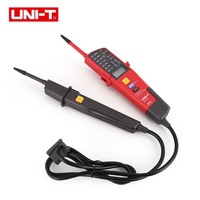 UNI T UT18C/D Auto Range Voltage Meter Continuity Phase Rotation RCD LCD LED Two Pole Tester Detector On Off Test Voltmeter