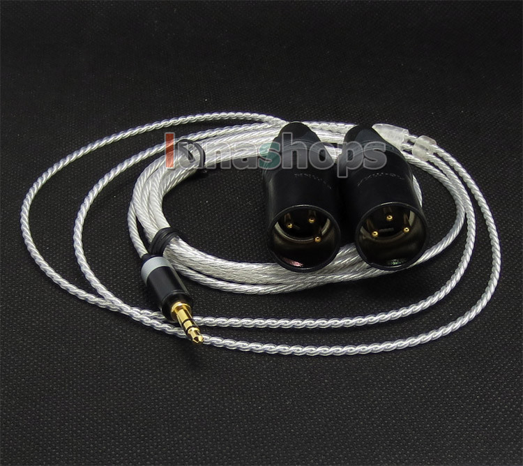 Male 3 Pins XLR Headphone Cable For philips Fidelio X1 UE6000 UE9000 Sony MDR-1R LN004721