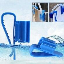 2 шт аквариумная синяя водяная трубка кронштейн для шланга 8-16 мм держатель для фильтрации труб держатель для водопровода фиксированный зажим для шланга аквариума