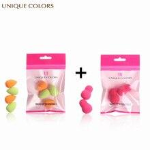 UNIQUE COLORS 6Pcs Make up Sponge Cosmetic Puff Face Foundation BB Cream Makeup Soft Facial Care Blender