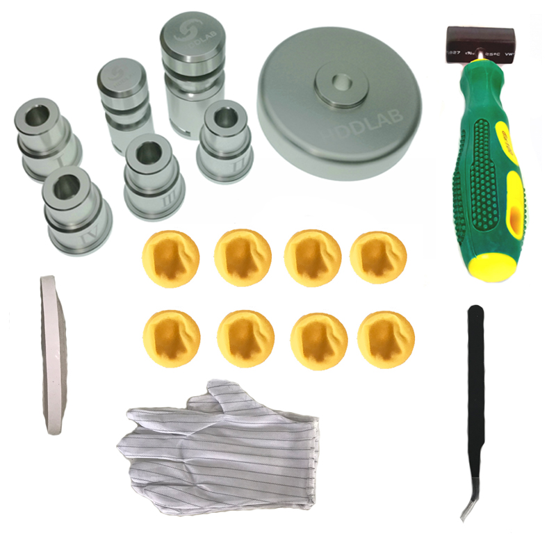 Auto 2 5 3 5 Hard Disk Repair Kit Platter Extract Tool Platter Holder Save Data