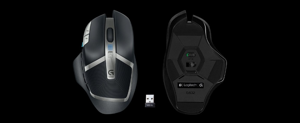 Detail Feedback Questions about Logitech G602 Lag Free Wireless