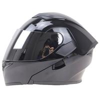 Professional Full Face Motorbike Helmet DOT ECE NBR Approved Motorcycle Sports Jie Kai Anti Scratch Shield