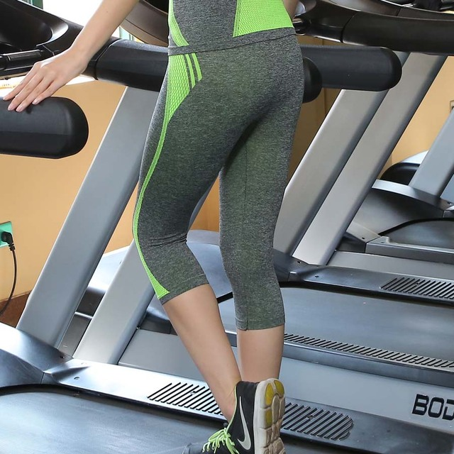 High Waist Leggings Strech Fitness Clothing