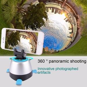 Image 5 - Tripé panorâmico eletrônico puluz de 360 graus, cabeça com controle remoto rotativo para smartphones, gopro, dslr