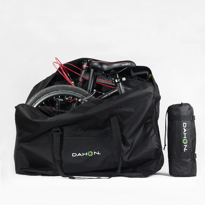 Clearance Rhinowalk 14 inch 20 inch Folding Bike Bag Loading Vehicle Carrying Bag Pouch Packed Car Thickened Portable Bicycle Pack 4
