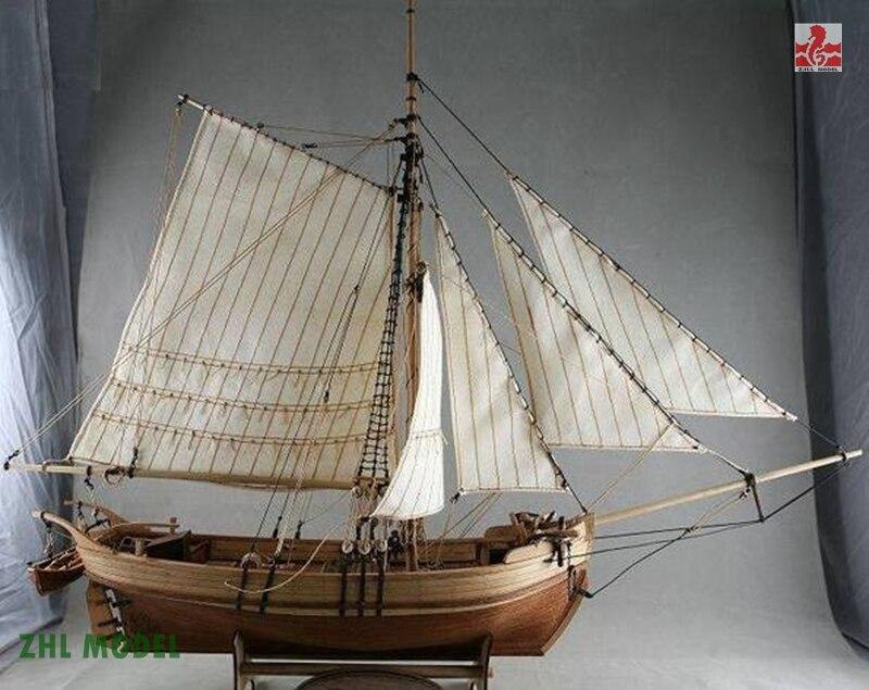 ZHL Swedenyacht model ship woodZHL Swedenyacht model ship wood