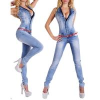 Long Sexy Denim Jeans Jumpsuit For Women Summer Bodysuit Rompers Womens Jumpsuit 88