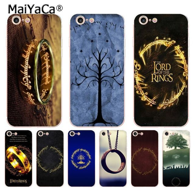 MaiYaCa The Lord of The Rings hot painted soft tpu phone