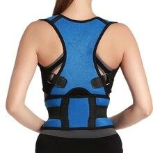 Shoulder Back Support Belt Therapy Posture Corrector Brace for Men Women Braces & Supports Belt Shoulder Posture Corrector New