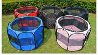 85*85*61cm Pet octahedral fence Portable folding dog tent Cat nest kennel Dog Accessories