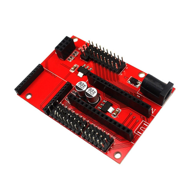 Nano 328P IO Wireless Sensor Expansion Board for XBEE and NRF24L01 Socket for arduino Diy Kit