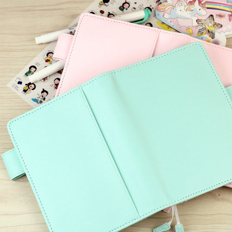 цена на 2017 New Arrive Jamie Original A5 A6 Hobo Style Pink & Mint Color Planner Without Filler Pages Match Filler