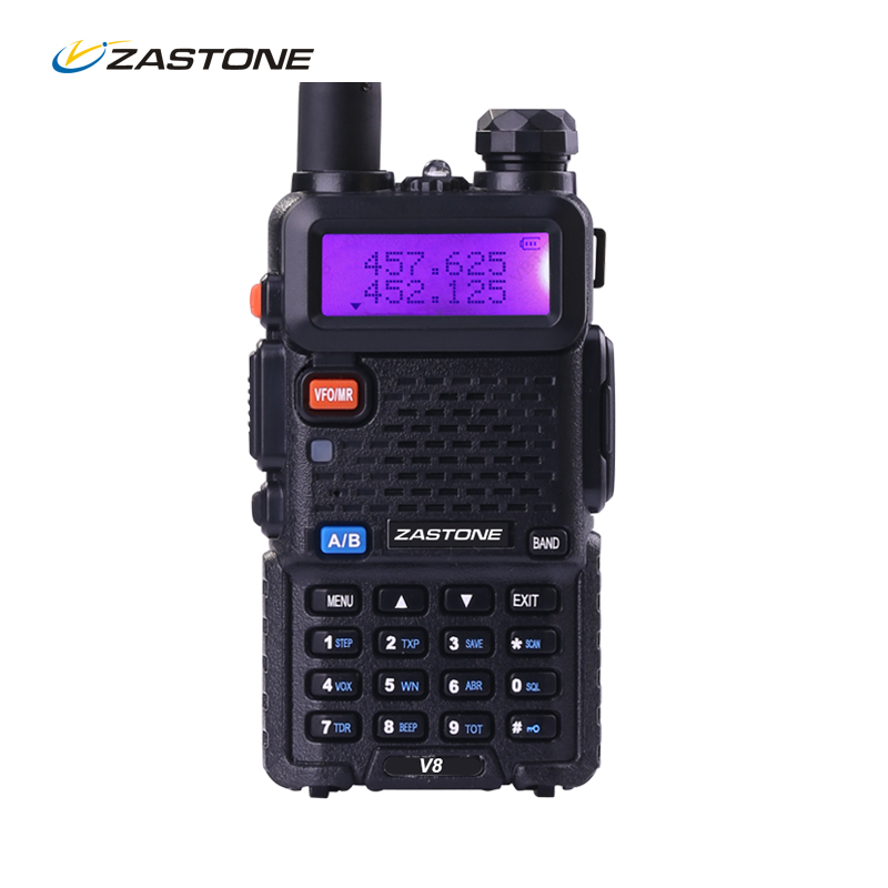 Zastone ZT V8 VHF 136 174MHz 400 520MHz Frequency Two Way Ham Radio Comunicador HF Transceiver