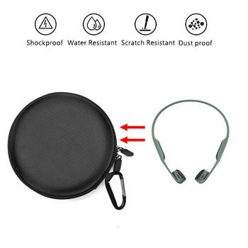 Travel Bag Portable Case for AfterShokz AS650Trekz Air Wireless Bone Headphones  Airpod Case Cover