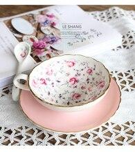 200 ML Britischen Royal Bone China Kaffeetassen Liebhaber Paar Tassen keramik Tee-Tasse und Untertasse Set Erweiterte Porzellan Becher Für geschenk
