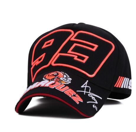 Baseball Cap MOTO GP 93 Motorcycle 3D Embroidered Racing Cap Men Women Snapback Caps Hiphop Snapback Caps Hats Casquette