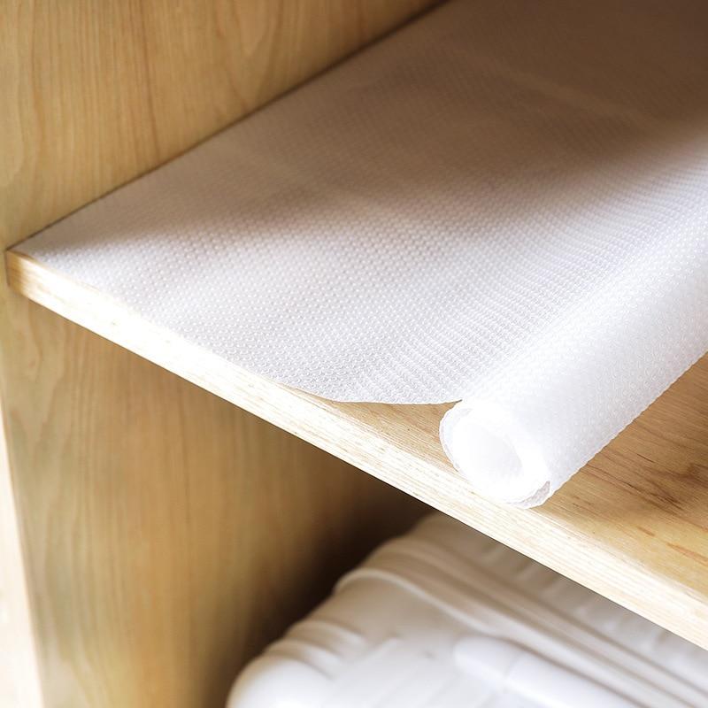 Kitchen Shelf Liner Reviews: Clear EVA Waterproof Cupboard Cabinet Shelf Drawer Liner