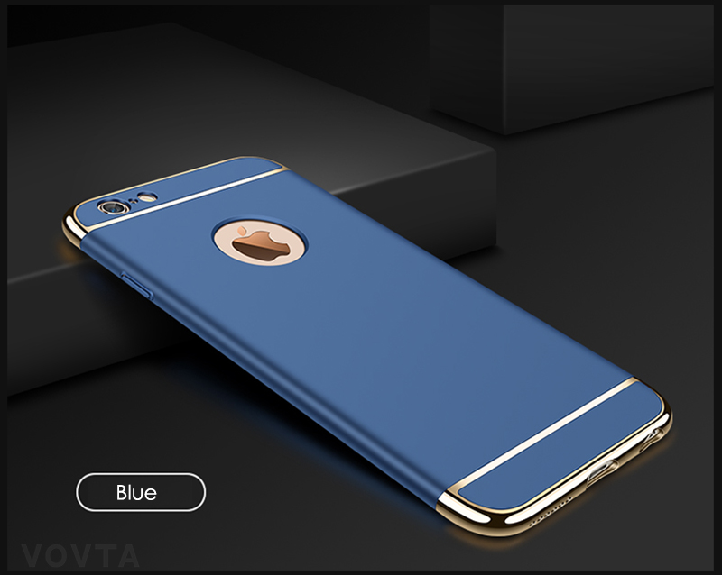 VOVTA Luxury Anti-Knock Cases For iPhone 6 8 7 Plus Case Plating Shockproof Full Cover For iphone 7 6s 8 Plus Phone Case13