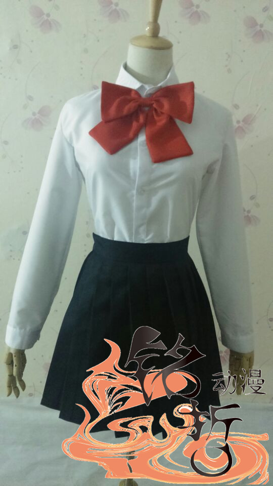 Tokyo Ghoul Touka Kirishima Uniform Cosplay party Costume dress size