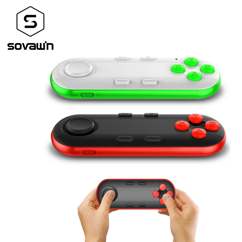 Mocute <font><b>Bluetooth</b></font> Gamepad Android Game Pad VR Controller Joystick Selfie <font><b>Remote</b></font> <font><b>Control</b></font> <font><b>Shutter</b></font> for iPhone Android for PC Phone image
