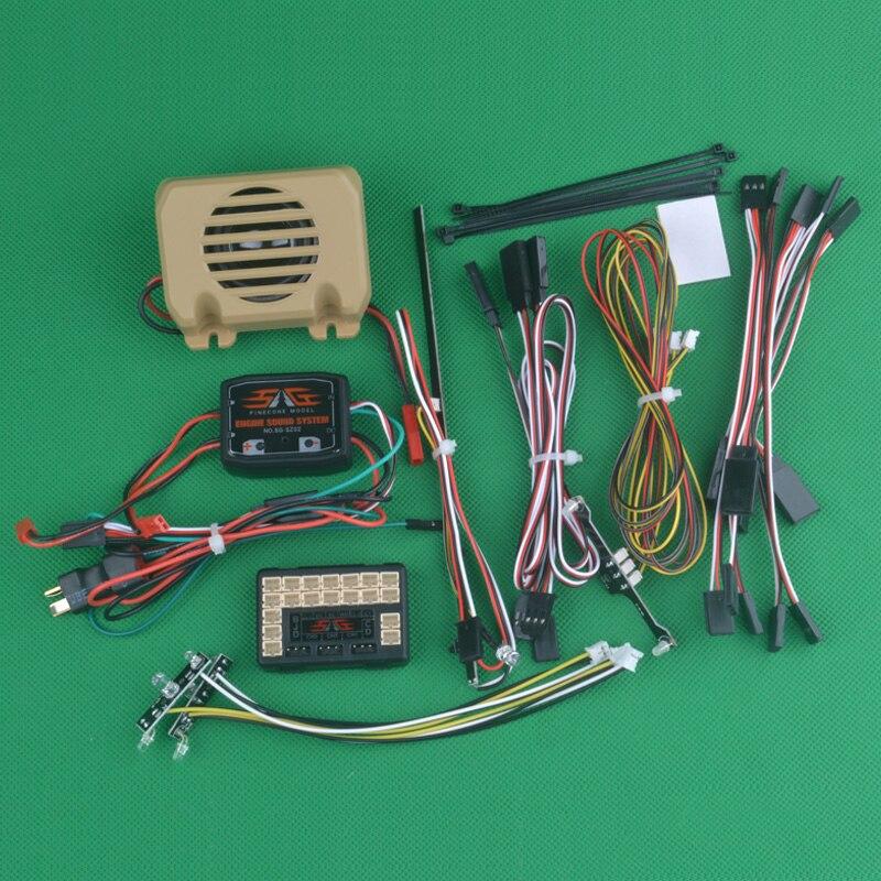 HG P801 P802 1/12 8X8 RC Hohe imitatlon UNS military lkw ersatzteile Lampe set anzug Stimme pack WE7021 WE8021-in Teile & Zubehör aus Spielzeug und Hobbys bei  Gruppe 1