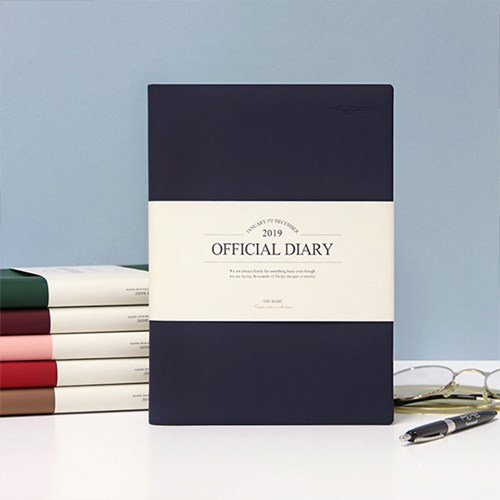 Creative Office Fashion 2019 Business Style Monthly Planner 15.4*21.3cm 176P Korean Fashion Stationery fashion style