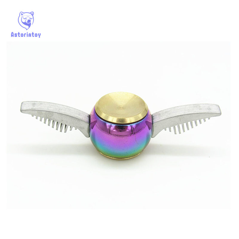 New Colorful  Fidget Spinner Hand Spinner Harri Potter Fans New Fidget Toy EDC ADHD Anti-Stress Copper New Designs Decompression