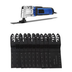 10 Pcs Oscillating Multitool Saw Blades Set For Fein Multimaster Porter Cable  #H028# Drop shipping